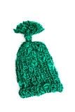 Green bobble cap Stock Images