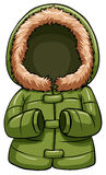 Green body warmer Royalty Free Stock Images
