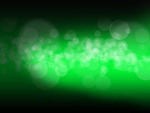 Green Bokeh. Effect wallpaper illustration Royalty Free Stock Photo