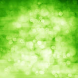 Green bokeh abstract background Stock Photography