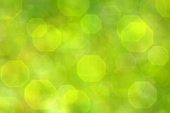 Green bokeh background Royalty Free Stock Photos