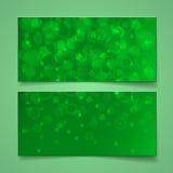 Green bokeh background Stock Photos