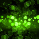 Green Bokeh Background Stock Image