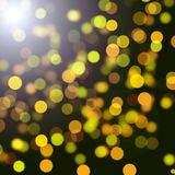 Green bokeh background Royalty Free Stock Image