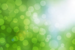 Green bokeh background. Green and white bokeh abstract background Royalty Free Stock Photo