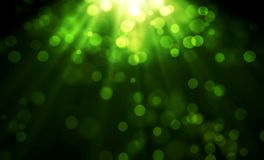 Green bokeh blurred background. Illustration design. Green bokeh blurred background illustration design glowing bright light wallpaper art club circle party stock photography