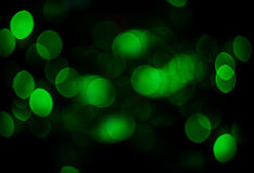 Green bokeh color abstract background Royalty Free Stock Photo