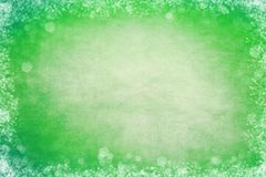 Green Bokeh Frame Background. For Slide Slow Presentations royalty free illustration