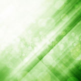 Green bokeh and light background Stock Image