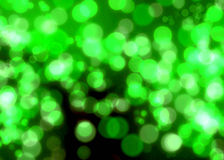 Green Bokeh Stock Image