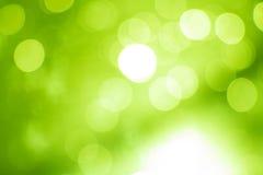 Green bokeh soft color background Stock Photos