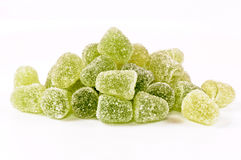 Green bonbon Royalty Free Stock Photo