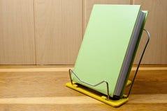 Green book. Stock Photo