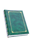 Green book Royalty Free Stock Image