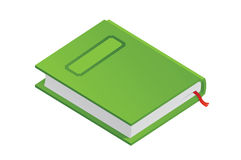 Green book Stock Photography