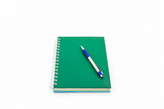 Green book. Royalty Free Stock Photos