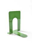 Green bookend Royalty Free Stock Image
