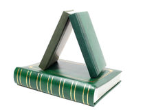 Green books Royalty Free Stock Image