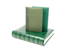 Green books Royalty Free Stock Photos