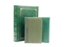 Green books Stock Image