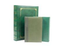 Green books Stock Image