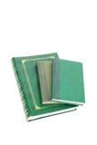 Green books Stock Photos