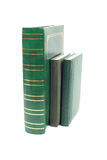 Green books Stock Photos