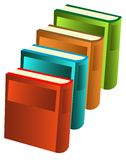 Green Books illustration Royalty Free Stock Images