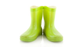 Green boots Royalty Free Stock Photos