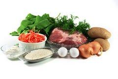 Green borsch - ingredient Stock Photos