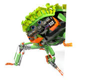 Green bot Royalty Free Stock Images