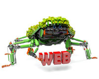 Green bot Stock Photography