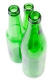 Green bottle Stock Images
