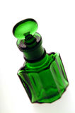 Green Bottle. Close up of a Victorian green bottle Stock Images