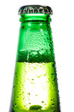 Green bottle Stock Photo