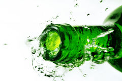 Green bottle Royalty Free Stock Images