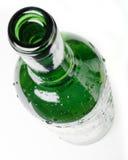 Green bottle royalty free stock photo