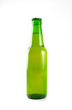 Green bottle of beer Royalty Free Stock Image
