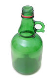 Green bottle glass Royalty Free Stock Photo