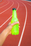 Green bottle Royalty Free Stock Photos