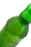 Green bottle with liquid Royalty Free Stock Images
