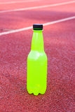 Green bottle  water Stock Photography