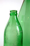 Green bottles Stock Image