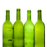 Green bottles Royalty Free Stock Photography