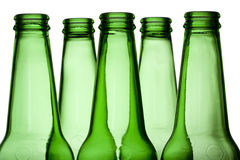 Green Bottles royalty free stock image