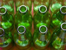Green Bottles Royalty Free Stock Photo