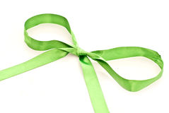 Green bow Stock Photos