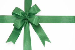 Green bow Stock Photography