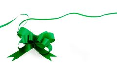 Green Bow 3 Stock Photography