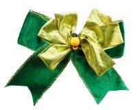 Green bow Stock Photo